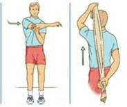 frozen shoulder stretch