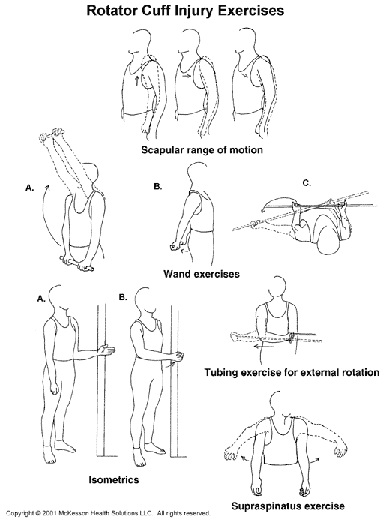 Rotator Cuff Exercises « Injured Shoulder