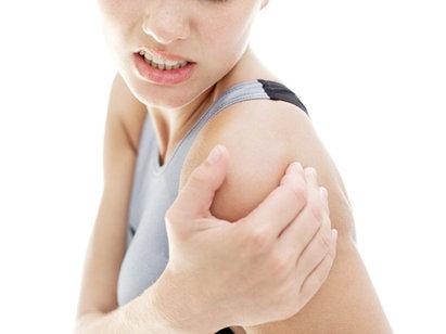 swollen shoulder